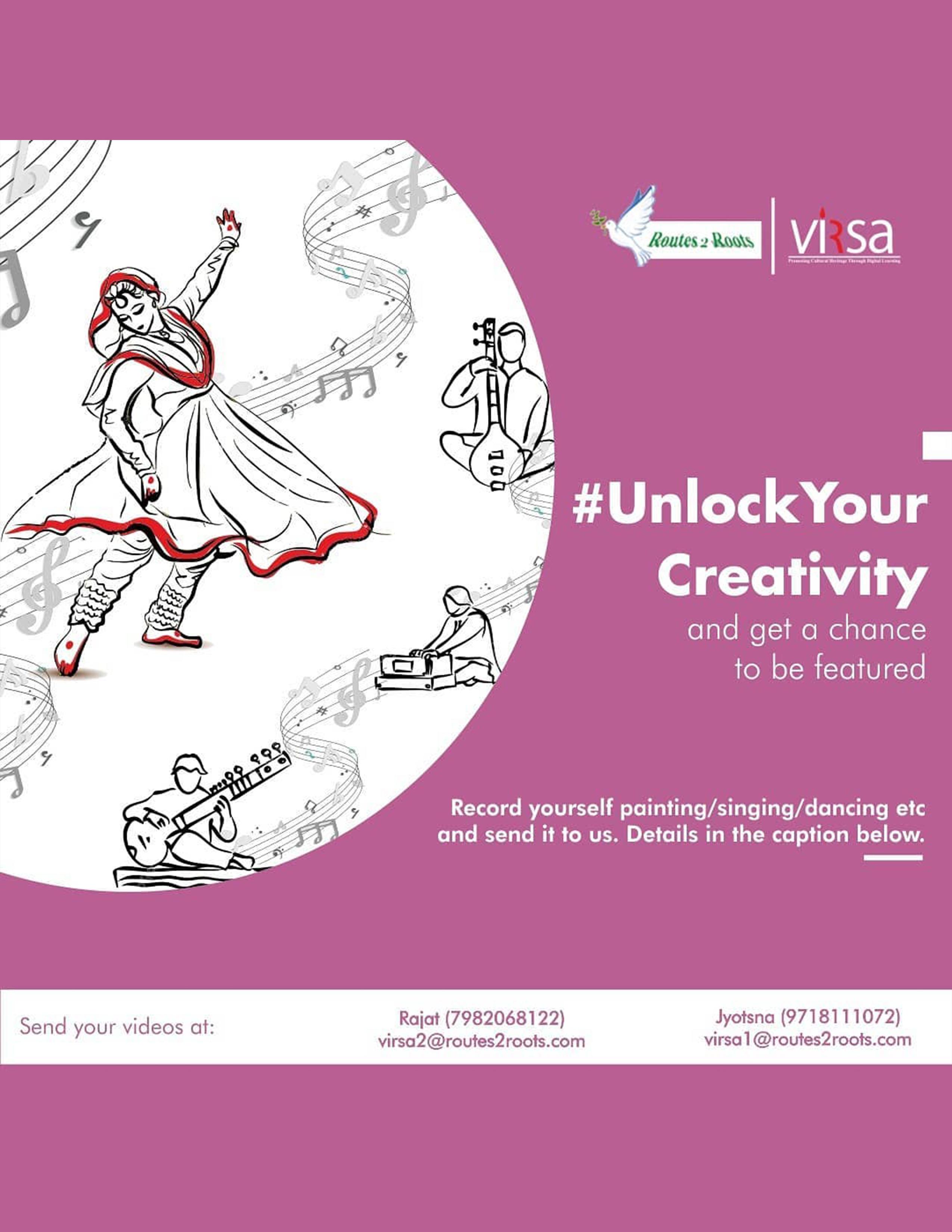 #UnlockYourCreativity